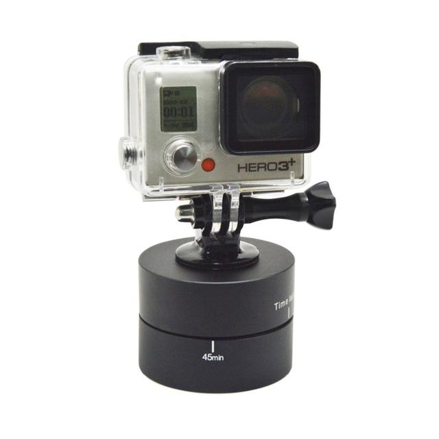 Gopro Acessórios 360 Graus 60 min Time Lapse Panning Rotating para hero 4 3 + 2 1 gopros câmeras dsd-b247a xiaomi yi sj4000