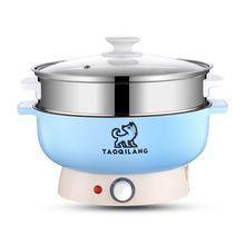 Многофункциональная изоляционная электрическая сковорода для студентов маленький Электрический Чайник электрическая кастрюля вок для спальни кухонная лапша кастрюля Мини электрическая