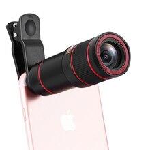 14X Universal Optical Zoom Lens Marco Focus Telescope Len for iPhone 8 7 6 6s Samsung S8 Plus S6 S7 edge Phone Camera Lens Kit phone camera lens 9 in 1 phone lens kit for iphone x xs max 8 7 plus samsung s10 s10e s9 s8
