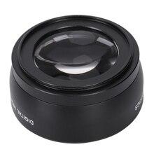 цена на Digital 55mm Macro Wide Angle Lens 0.45X High Definition for Sony DSLR A230 A350 A300 A330 A500 A700 A900 A100 A200 with Lens