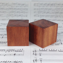 8PCS Rosewood Wooden Big Large Speaker Spike Shockproof Speaker Isolation Cone Stand Foot Base Pad 50MM