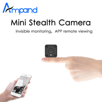 Ampand MINI Camera 720P HD IP WIFI Camera APP Remote View Motion Detection HD Night Vision