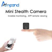 Ampand MINI Camera 720P HD IP WIFI Camera APP Remote View Motion Detection HD Night Vision