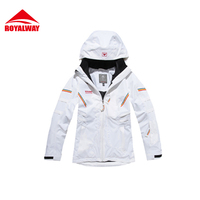 ROYALWAY Women S Ski Jackets Winter Windproof Outdoor Sports High Quality Removable Breathable Warm Man Clothing