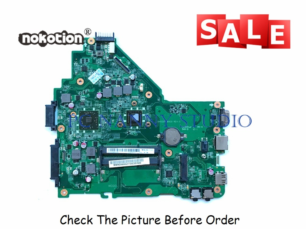PANANNY MBRk206005 for Acer Aspire 4250 Laptop Motherboard w/ <font><b>E300</b></font> CPU DDR3 tested image