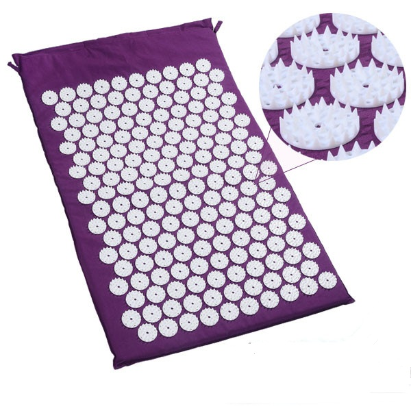 New Shakti Pilates Spike Yoga Bed Nails Mat Pads for Acupressure Massage & Relaxation YOGA Massage Acupuncture Mat Cushion new yoga pilates exercise high density eva foam massage roller fitness home gym massage
