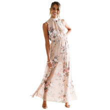 ddc17d9d061f9 Pink Floral Maxi Dress Promotion-Shop for Promotional Pink Floral ...