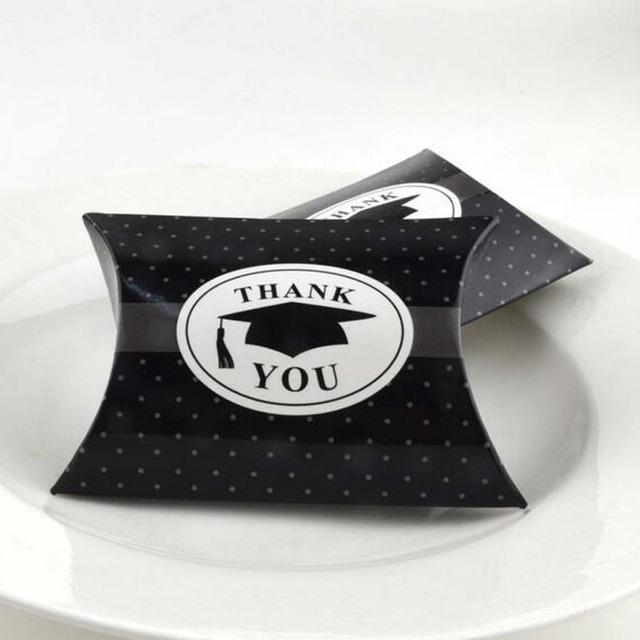 100 Pcs Thank You Candy Boxes