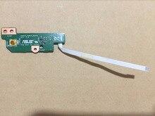 Бесплатная доставка Кнопка питания коллегия для ASUS K46C K46CM S46C E46C A46C R405C ноутбук Переключатель доска с кабелем