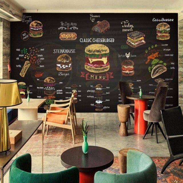 Peinture murale personnalis e main peint craie de couleur for Fresque murale cuisine