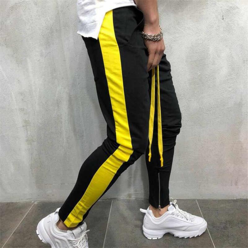 Streetwear 2019 nuevo jogger pantalones para hombre outdooer pantalones casuales para hombre bodybuilding pantalones de chándal para hombre ropa de trabajo pantalones de moda