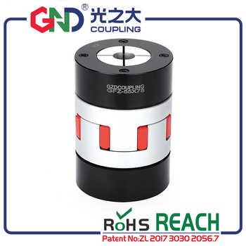 GND high standard aluminum alloy plum jaw locking assemblies CNC coupling D30 L50 diaphragm sleeve oldham flexible shaft couples - DISCOUNT ITEM  10% OFF Home Improvement