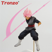 Tronzo Persale Banpresto Original Dragon Ball Super Goku Black Action Figure Toys Dragon Ball Zamasu Super Saiyan Rose Model Toy