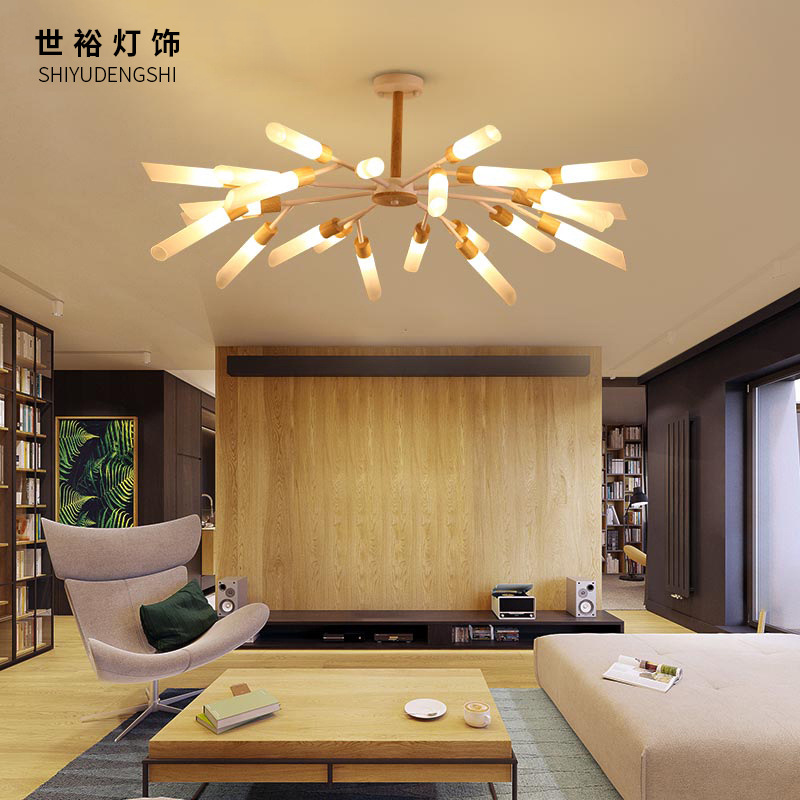 Ceiling Lights & Fans Audacious Postmodern Chandeliers Ceiling Nordic Luminaires Deco Lighting Glass Fixtures Living Room Hanging Lights Bedroom Pendant Lamps