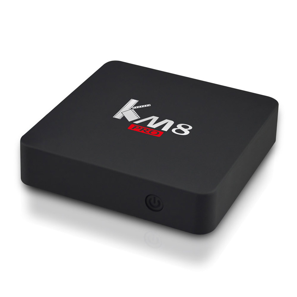 KM8 PRO Amlogic S912 Android 6.0 TV BOX Octa Core 2GB RAM 8GB ROM KD player Bluetooth 4.0 Dual-band WIFI 2.4G/5GHz Media Player коврик для мыши cougar control ii s