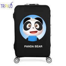 TRIPNUO Panda Travel Suitcase Cover 19-32 Inch Thickest Elastic Luggage Cover Travel Accessories(China)