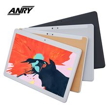 ANRY RS10 2019 Global Version Android 7.0 10 inch tablet Quad Core 3G Phone call Tab IPS 1280*800 Dual SIM Card Tablet смартфон prestigio muze g7 lte psp7550duo dual sim 5 0hd 1280 720 ips quad core 1 25ghz 2g 16g 2 0mpt 13 0mp android 7 0 nougat black