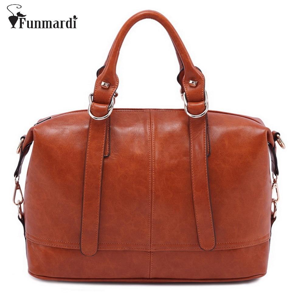 Funmardi Роскошные Модные PU кожаная сумка элегантность Для женщин женская сумка Классическая сумка новый бренд кожаная сумка wlhb845