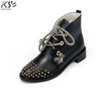 Fashion Designer Shoes Metal Chain Really Leather Shoes Fashional Genuine Leather Luxury V Brand Model Comfortable