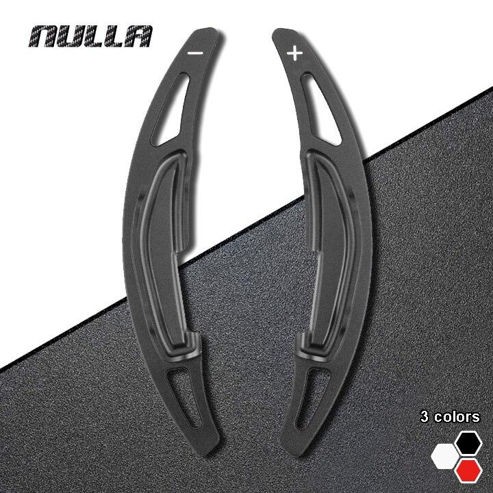 NULLA Aluminum Alloy Steering Wheel Shift Paddle Extension Shifters For BMW M2 M3 M4 M5 M6 X5M X6M Car Styling Accessory DSG
