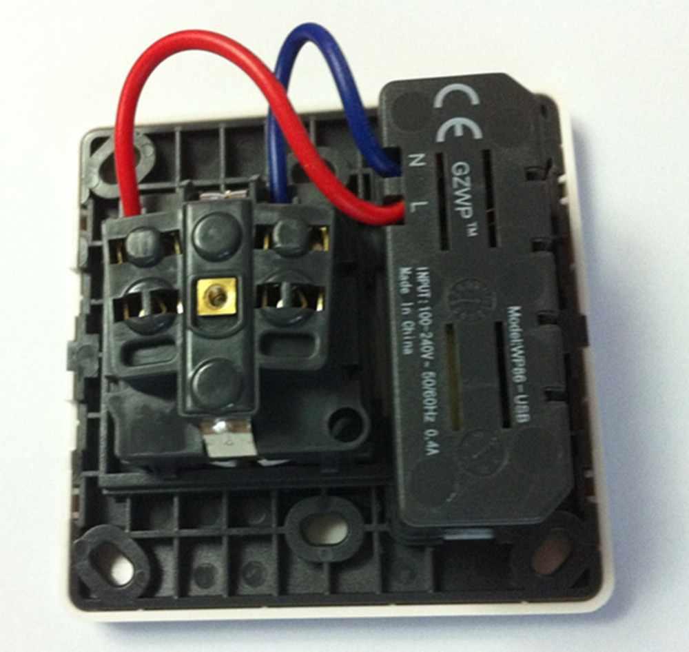 Touch Schakelaar 2100 mAh Homekit Wall Charger Adapter EU Plug Socket Power Drukknop Dual Usb-poort Outlet Panel Interruptor touch
