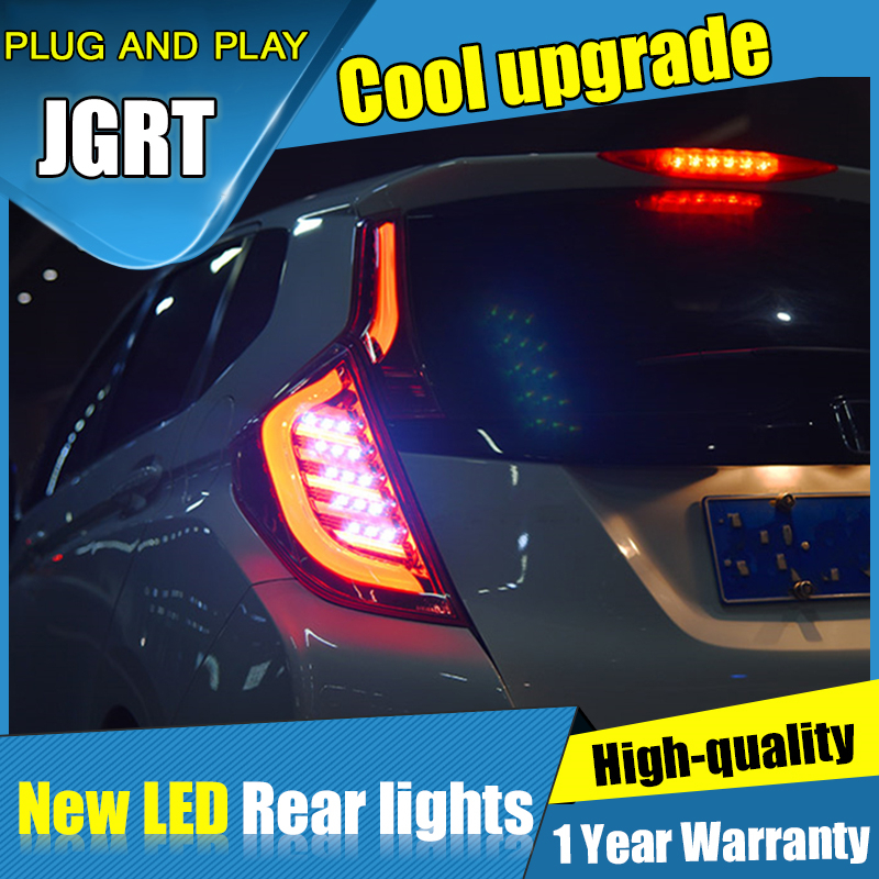 New rear lights car Styling for Honda Fit LED Taillights 2015 2019 for Fit red dark