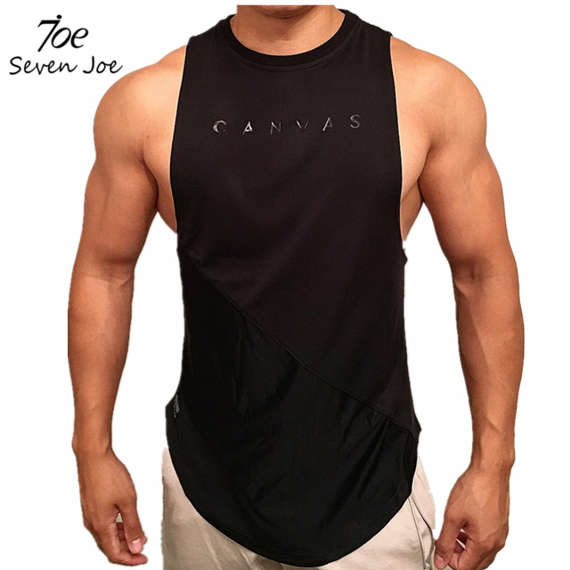 Gym Stringer Clothing Bodybuilding Tank Top Men Fitness Singlet Sleeveless Shirt Solid Cotton Muscle Vest Unders