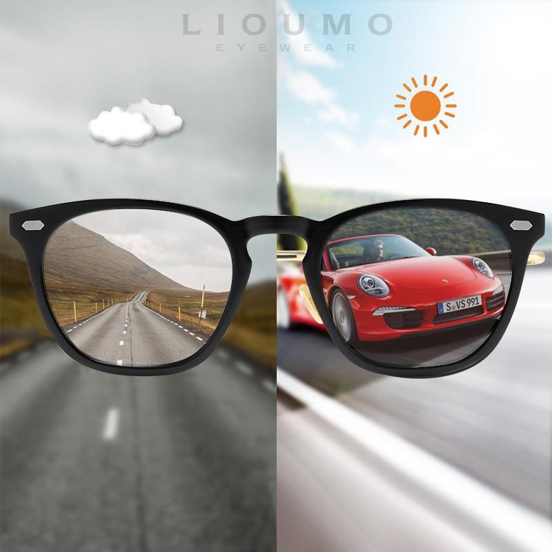 2020 New Cat Eye Photochromic Sunglasses Women Men Chameleon Polarized Day Night Vision Safe Driving Unisex Sun Glasses UV400|Women's Sunglasses| - AliExpress