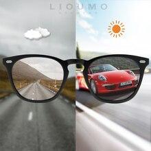 2020 새로운 고양이 눈 Photochromic 선글라스 여자 남자 카멜레온 Polarized Day Night Vision 안전 운전 Unisex Sun Glasses UV400