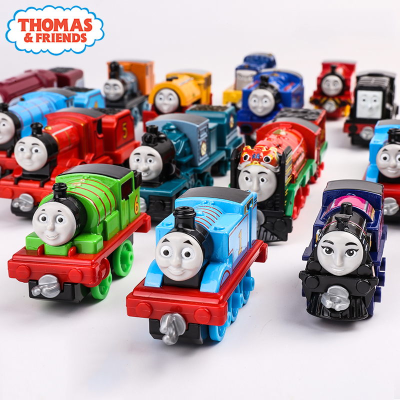 36 Style Thomas And Friend Strackmaster 1:43 Train Model Car Kids Toys For Children Diecast Brinquedos Education Birthday Gift