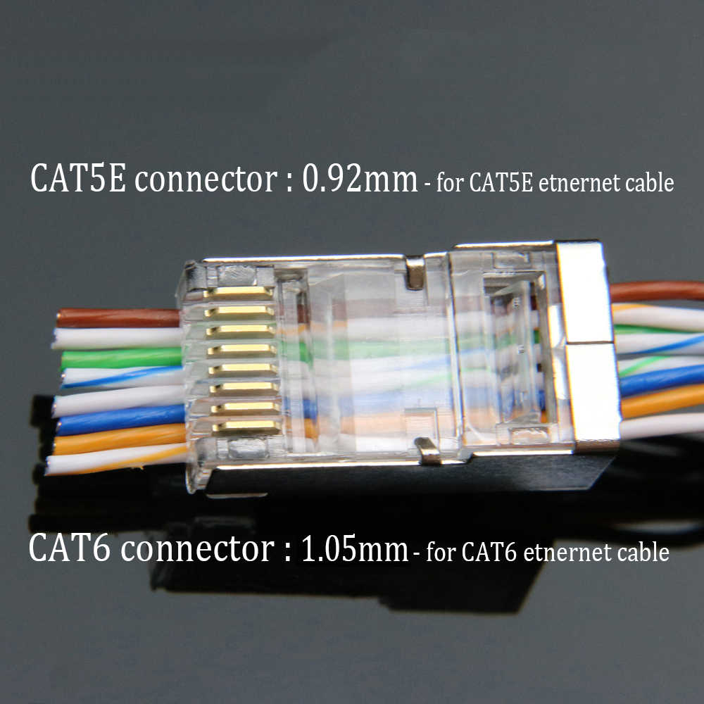 Phenomenal Detail Feedback Questions About Xintylink Ez Rj45 Connector Cat6 Rj Wiring Digital Resources Hutpapmognl