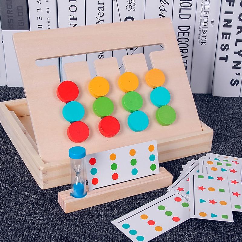 Juliana juguete matemáticas Color fracción educativos para Monterssori de bebé de Madera Juguetes para los niños