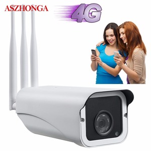 Image 2 - Panel de energía Solar de 30W cámara IP de vigilancia CCTV para exteriores, seguridad de 1080P, Onvif, Wi fi inalámbrico, 3G4G, SIM, tarjeta SD de 16GB gratis