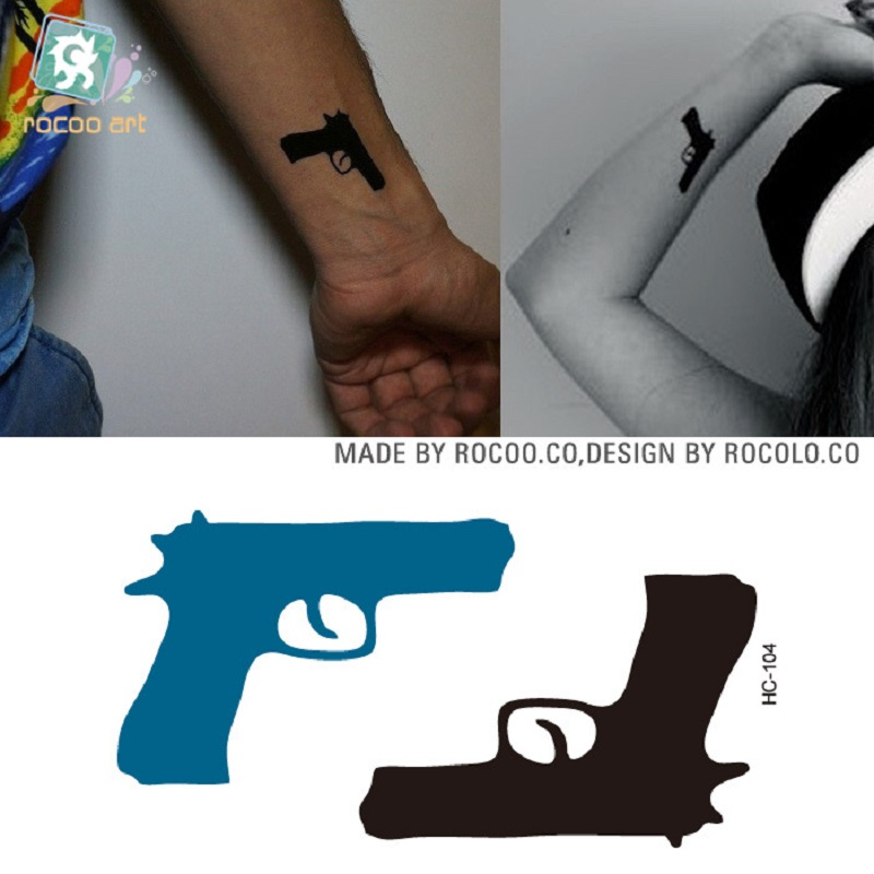 2pcs/ New Limited Temporary Tattoo The Explosion Of Disposable Waterproof Small Fresh Tattoo Stickers And Hc1104