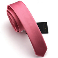High Quality 2016 New Slim Tie Fashion Gravata Slim Neckties Men's Silk Necktie Mens Ties Skinny Tie 4CM Narrow Ties for Men
