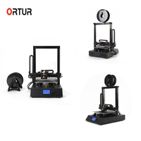 Stampante 3D Professionale New Generation Ortur Anto Leveling Full Assemble 3 D Printer Resume Printing Impressora 3d Awesome