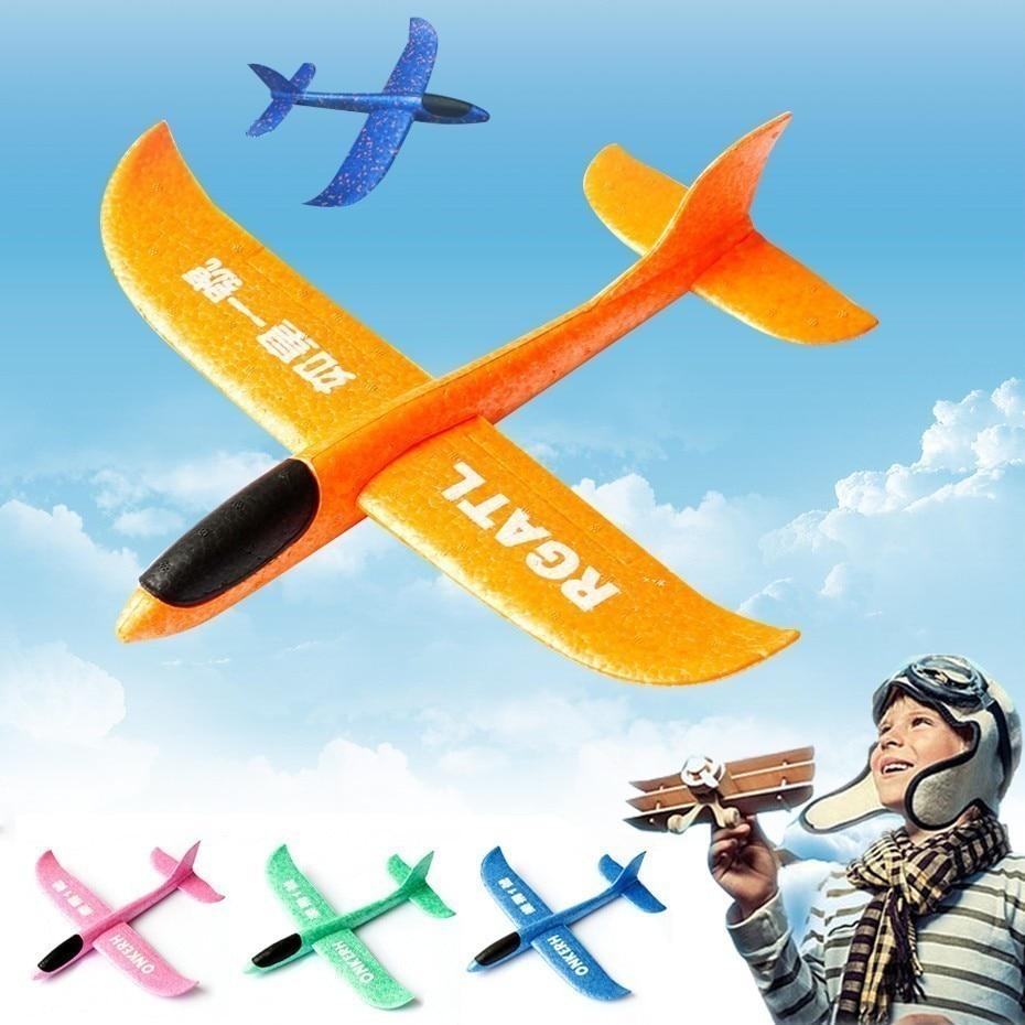 Súper Aire Niños De Espuma Mano Cm Aviones Libre Grande Bolsa Lanzamiento Epp 48 Juguete Avión Fiesta Rellenos Modelo Al Juguetes Volador fYv6g7yIb