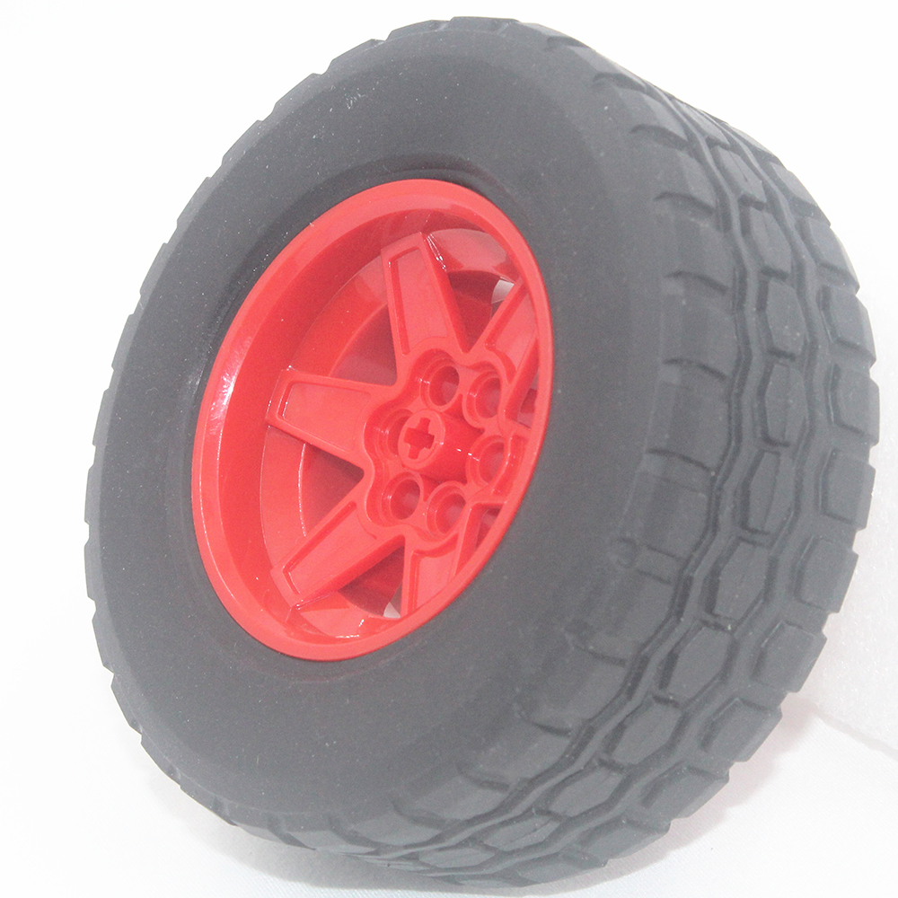 MOC Technic Parts 1pcs TYRE TYRE DIA 94,3 X 38 & RIM DIA 56 X 34 Compatible With Lego For Kids Boys Toy T94.3