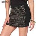 Kaigenina Новая мода Горячие продажи мини-юбка Женщины узкий модный юбка ,юбка с простыми щупами 1077