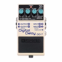 Boss Audio DD-7 Digital Delay Guitar Effects Pedal with 6.4 Seconds of Delay Time, Stereo Output, and Multiple Operational Modes