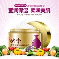 Vegetable Enzymes Moisturizing Essence Cream Oil Control Facial Acne Treatment Anti Wrinkle Anti Aging Skin Whitening