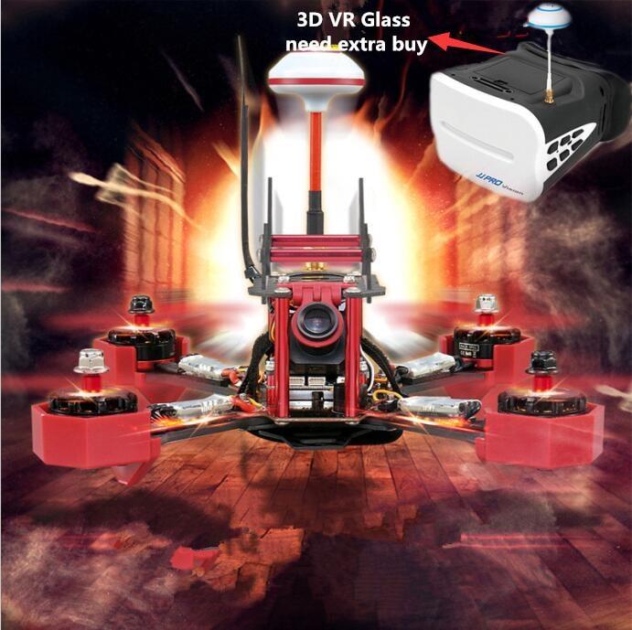 2017New JJPRO P175 5 8ghz 48ch Carbon fibre Micro FPV Racing Quadcopter font b Drone b