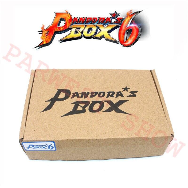 Image 5 - Newest Original pandoras box 6 Jamma Version 1300 in 1 Arcade  Game Board support CGA / VGA / HDMI Pandora 4 HD for VideoCoin Operated  Games