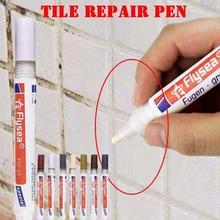 Белый цвет плитка Затирка маркер ремонт настенная ручка белый Затирка маркер без запаха нетоксичный для плитки пол 1 шт