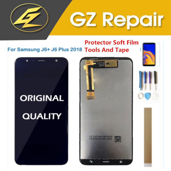 Original For Samsung Galaxy J6+ 2018 J6 Plus J610 SM-J610F J610FN LCD Display With Touch Sensor Glass Digitizer With KitsOriginal For Samsung Galaxy J6+ 2018 J6 Plus J610 SM-J610F J610FN LCD Display With Touch Sensor Glass Digitizer With Kits