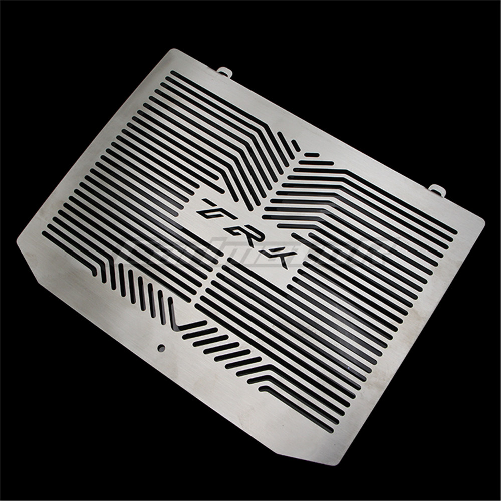 High Quality 2017 NEW Motorcycle Stainless Steel Radiator Grille Grill Cover Protector Guard For Benelli TRK502 TRK 502 stainless steel radiator frame grill grille cover for kawasaki vulcan vn 1500 1700