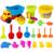 Brinquedos da Praia da Areia Conjunto de 21 Peças com Saco de Rede para As Crianças-Cor Aleatória
