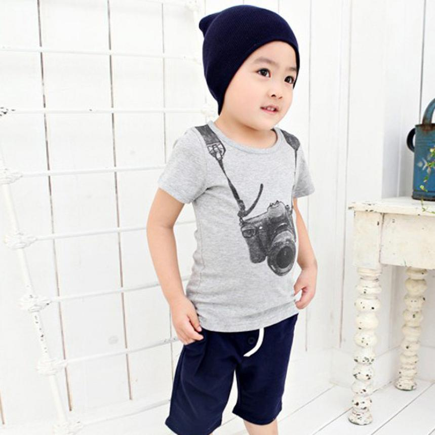 e19543823 € 2.32 10% de DESCUENTO|2 6year 2016 verano nueva historieta niños Camisas  Niños niños camisetas diseños ropa adolescente para Niños ropa ...