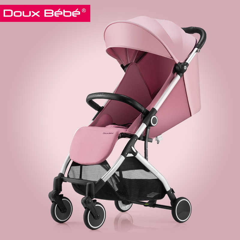 Douxbebe Baby Stroller Newborn Light Folding Umbrella Car Summer Shock Absorber  pram