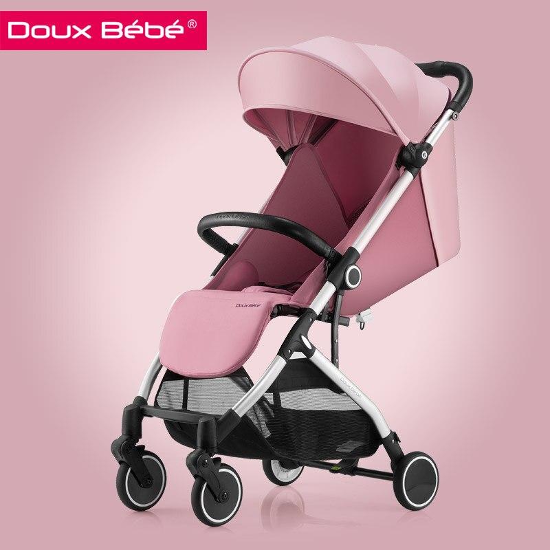 Douxbebe Baby Stroller Newborn Light Folding Umbrella Car Summer Shock Absorber pram
